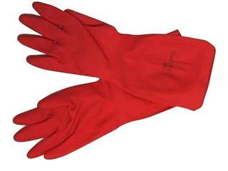 Huishoudhandschoen Marigold Classic rood medium