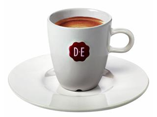 Schotel Douwe Egberts Espresso wit
