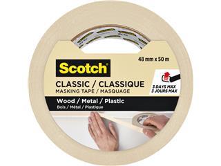 Afplaktape Scotch Classic 48mmx50m beige