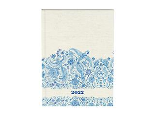 Agenda 2022 planner Indigo Off-white