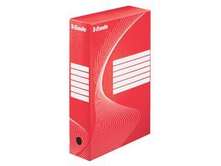 Archiefdoos Esselte Boxycolor 80mm rood