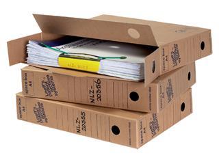 Archiefdoos Loeff's Space Box 4550 A4 320x240x60mm