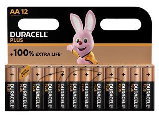Batterij Duracell Plus 12xAA