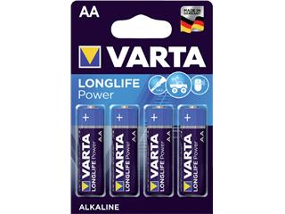 Batterij Varta Longlife Power 4xAA