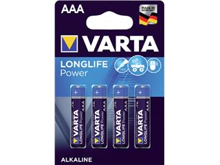 Batterij Varta Longlife Power 4xAAA