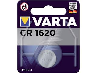 Batterij Varta knoopcel CR1620 lithium blister à 1stuk
