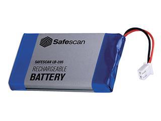 Batterij oplaadbaar Safescan LB-205 voor MCS 6185