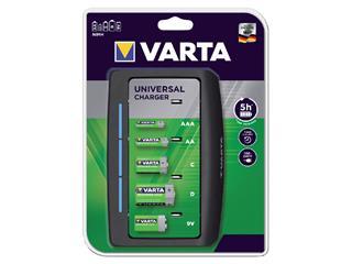 Batterij oplader Varta Universeel exclusief batterijen