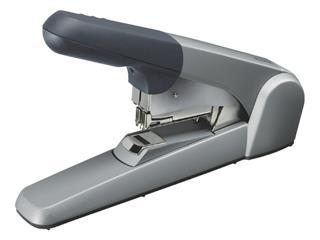 Blokhechter Leitz 5552 Flat Clinch 60vel zilvergrijs