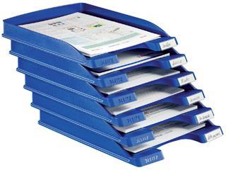 Brievenbak Leitz 5237 Plus slim blauw