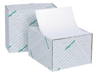 """Computerpapier 240x12"""" blanco LP 2V 60/57gr 1000vel"""