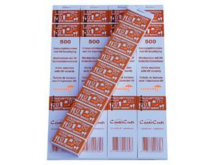 Consumptiebon Combicraft UV beveiliging 500 stuks oranje