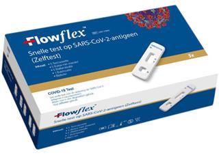 Corona zelftest Flowflex 5 stuks