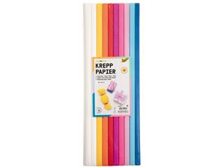 Crepepapier Folia 50x200cm Mix 10kleuren