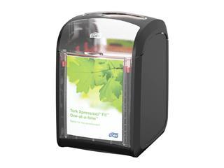 Dispenser Tork servet 272900 Xpressnap Fit zwart