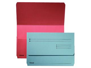 Dossiermap Esselte Pocket File blauw