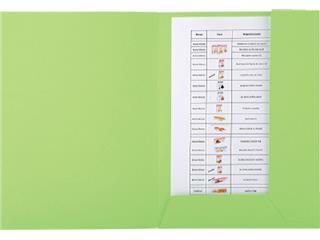 Dossiermap Exacompta Forever 290gr 2kleppen groen