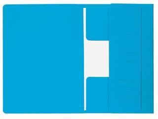 Dossiermap Jalema Mammoet folio 3 kleppen 270gr blauw