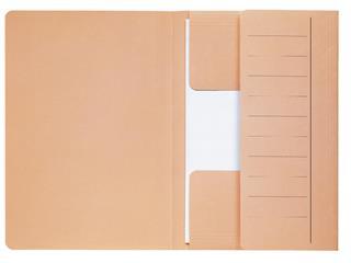 Dossiermap Jalema Mammoet folio 3 kleppen 270gr chamois