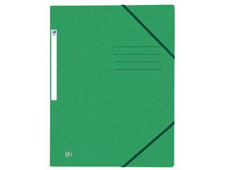 Elastomap Oxford Top File+ A4 groen