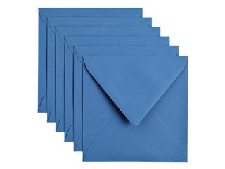 Envelop Papicolor 140x140mm Donkerblauw