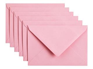 Envelop Papicolor C6 114x162mm Babyroze