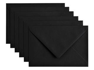 Envelop Papicolor C6 114x162mm Ravenzwart