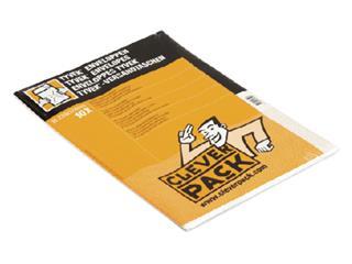 EnvelopCleverPack tyvek C4 229x324mm zelfklevend wit 10st
