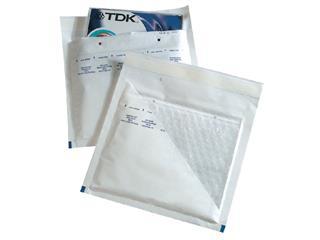 Envelop Jiffy luchtkussen tbv CD binnenmaat 180x165mm wit 100stuks