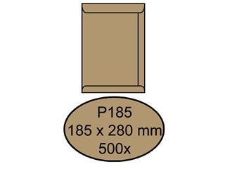 Envelop Quantore akte P185 185x280mm bruinkraft 500 stuks