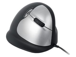 Muis R-Go Tools HE groot rechts bedraad zwart
