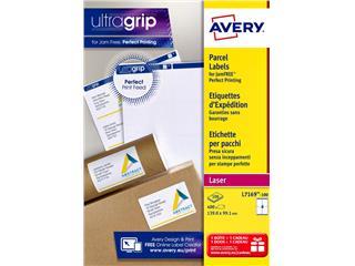 Etiket Avery L7169-100 99.1x139mm 400stuks wit