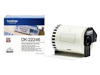 Etiket Brother DK-22246 103mm 30-meterwit papier