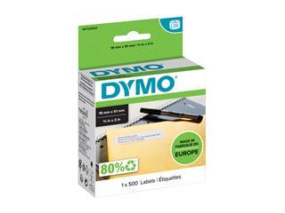 Etiket Dymo 11355 labelwriter 19x51mm verwijderbaar 500stuks