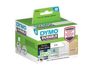 Etiket Dymo 1933083 labelwriter 25x25mm 1700 stuks