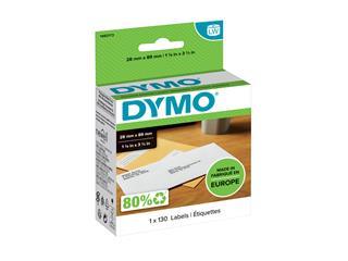 Etiket Dymo 19831 labelwriter 28x89mm 130stuks