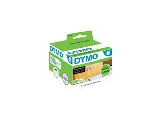 Etiket Dymo 99013 labelwriter 36x89mm transparant 260stuks