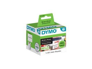 Etiket Dymo 99015 labelwriter 54x70mm diskettelabel 320stuk