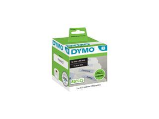 Etiket Dymo 99017 labelwriter 12x50mm hangmapruiter 220stuk