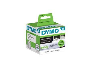 Etiket Dymo 99831 labelwriter 36x89mm 260stuks