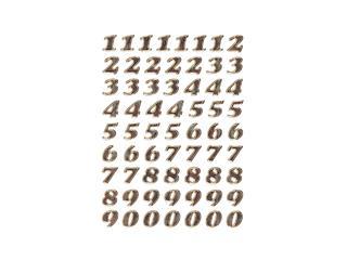 ETIKET HERMA 4193 GETALLEN 0-9 64ST GOUDFOLIE