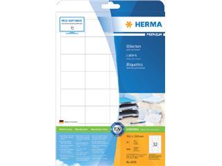 Etiket Herma 4200 48.3x33.8mm premium wit 800stuks