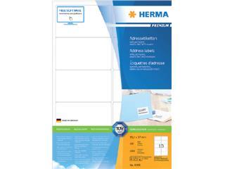 Etiket Herma 4268 99.1x57mm premium wit 1000stuks