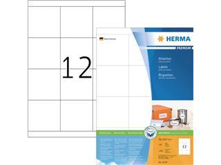 Etiket Herma 4279 70x67.7mm premium wit 1200stuks