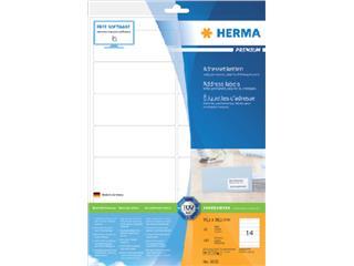 Etiket Herma 8635 99.1x38.1mm premium wit 140stuks