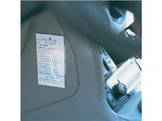Etikethouder 3L 10345 62x150mm PP zelfklevend