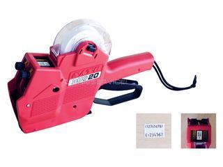 Etiketteertang Sato Duo 20 2 regels 16x23mm