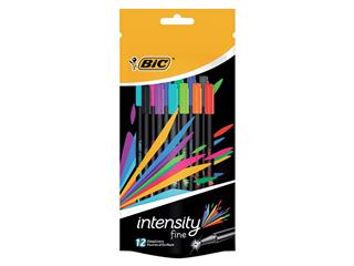 Fineliner Bic intensity 0.4mm assorti