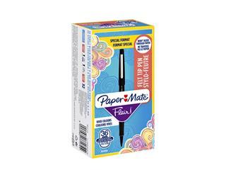 Fineliner Paper Mate Flair 0.7mm valuepack á 36 stuks zwart
