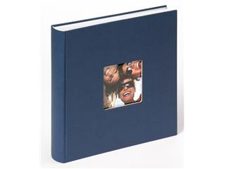 Fotoalbum Walther Fun 30x30cm 100vel blauw
